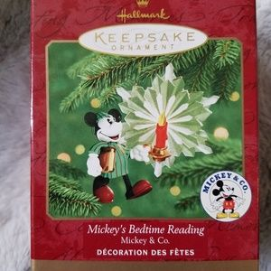 Mickey's Bedtime Reading Ornament